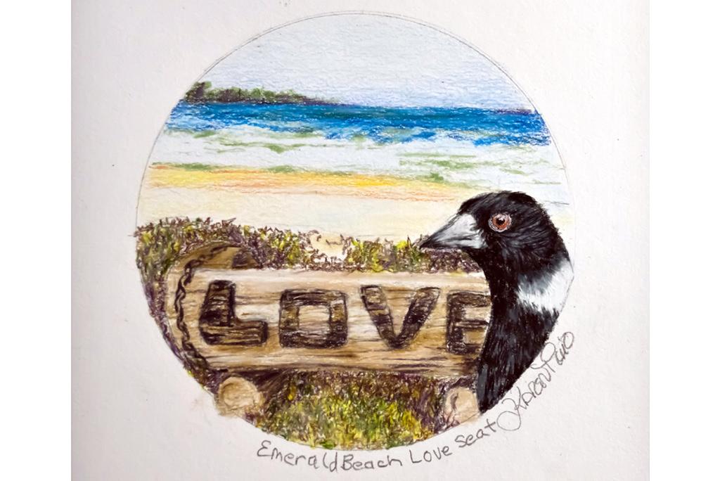 Emerald Beach Love Seat
